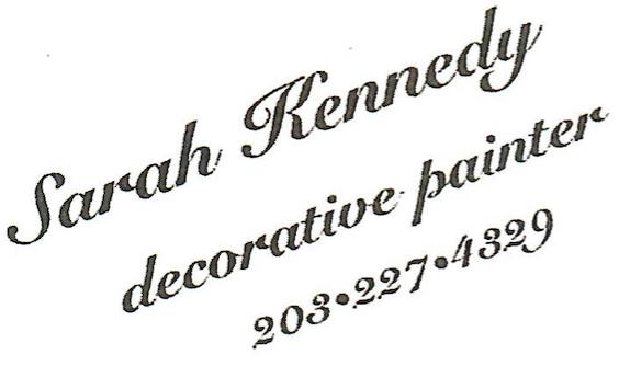 Sarah Kennedy Decorative Painter Westport CT